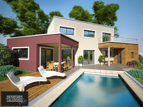 Faire construire des maisons design à Lyon c'est possible !