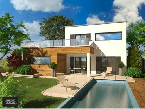 Faire construire des maisons design lyon c est possible - Se faire construire une maison ...