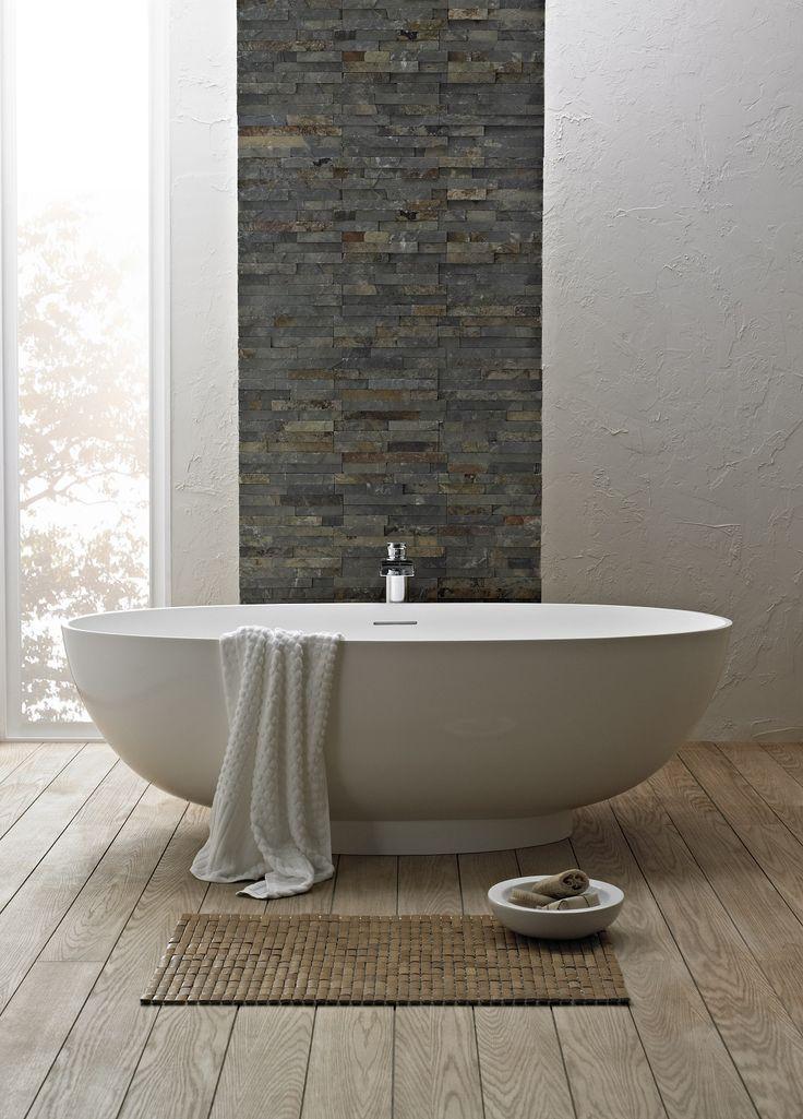 Tendances salle de bain salle de bain luxe baignoire il t for Salle de bain luxe lyon
