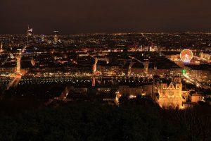 Visiter Lyon… la nuit