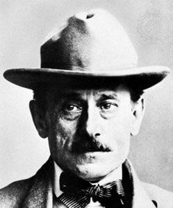 Portrait de l'architecte lyonnais Tony Garnier