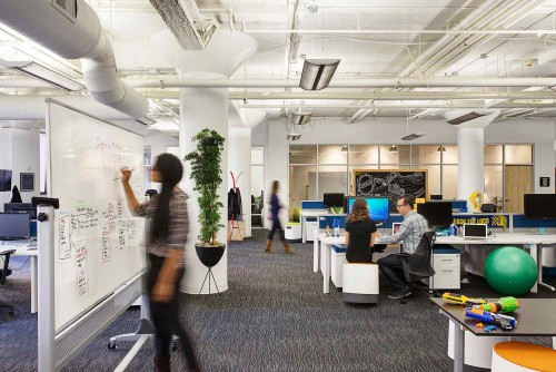 [EMPLOI] L'espace de travail : le nouvel argument de séduction