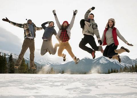 Quelle station de ski choisir pour des vacances entre amis ?